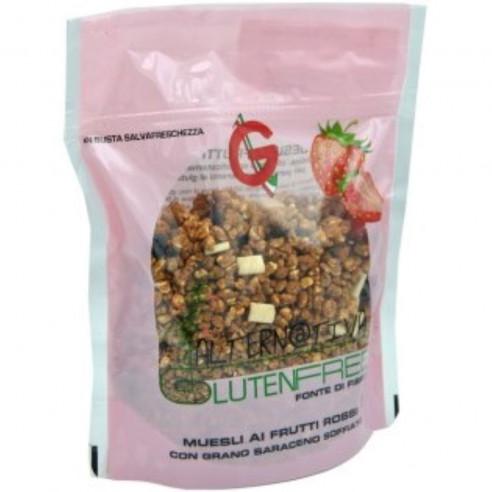 Graziosi Muesli with Red Fruits, 250g Gluten Free