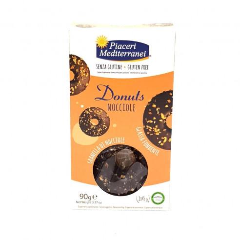 Piaceri Mediterranei Donuts Hazelnuts 90g Gluten Free