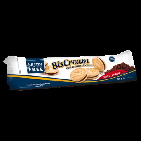 nutrifree Biscream cocoa 125g Gluten Free