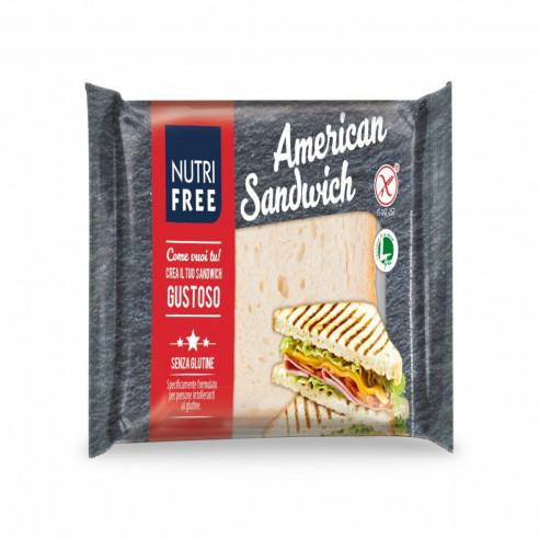 nutrifree American Sandwich 240g (60gx4) Gluten Free